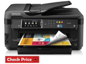 Epson WorkForce WF-7710 Printer has The Longest Lasting ink Cartridges