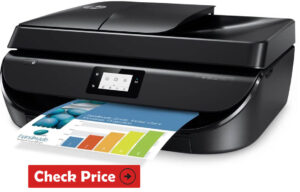 HP OfficeJet 5255 printer for stickers