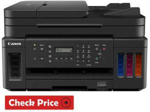Canon PIXMA MegaTank G7020 printer with ink tank